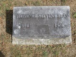 Florence <i>Stevens</i> Bean