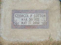 Georgia Pearl <i>Smith</i> Cotton