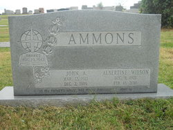 Albertine L Bertie <i>Wilson</i> Ammons