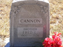 Fred L Cannon