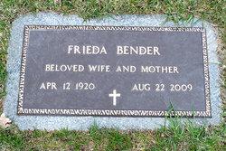 Frieda <i>Schrenk</i> Bender