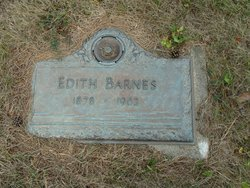 Edith <i>Mount</i> Barnes