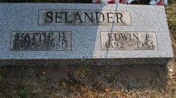 Hattie B. <i>Gunderson</i> Selander