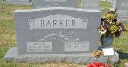 Mary Louise <i>Hardman</i> Barker