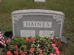 Anne E <i>Mason</i> Haines