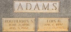 Lois <i>Dickson</i> Adams