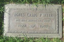 Agnes <i>Craig</i> Porter