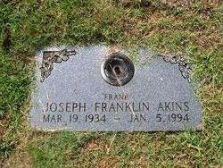 Joseph Franklin Frank Akins