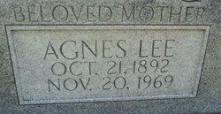 Agnes Lee Belvin
