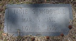 Susan Jane Janie <i>Sports</i> McDowell