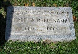 Frederick William Fred Berlekamp