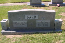 Betty Jane Bunnie Barr