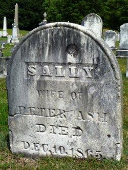 Sarah Sally <i>Hillman</i> Ash