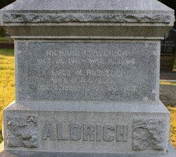 Lucy M <i>Russell</i> Aldrich