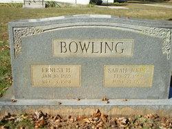 Sarah <i>Johns</i> Bowling