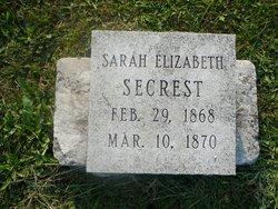 Sarah Elizabeth Secrest