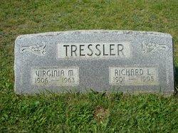 Virginia M <i>Wright</i> Tressler