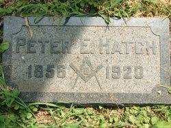 Peter E Hatch