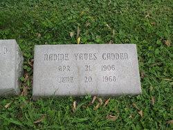Nadine <i>Yates</i> Cadden