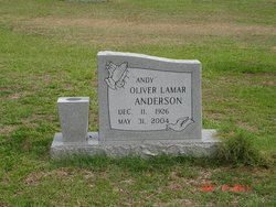 Oliver Lamar Andy Anderson