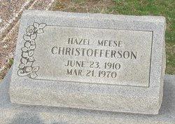 Hazel <i>Meese</i> Christofferson