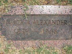 Nancy Ann <i>Patton</i> Alexander