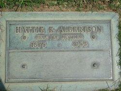 Hattie Eliza May <i>Bainbridge</i> Albertson