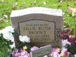 Lillie Ruth <i>Webb</i> Brooks