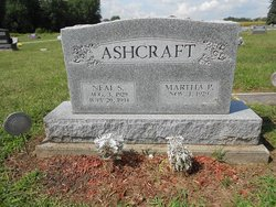 Martha P. <i>Woolard</i> Ashcraft