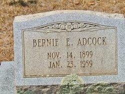 Bernie E Adcock