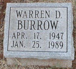 Warren D Burrow