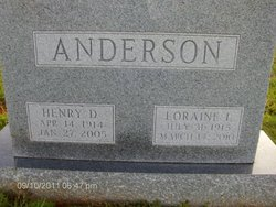 Chris Henry Anderson