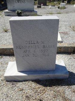 Della M <i>Bryant</i> Baker