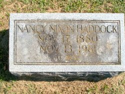 Nancy Nixon <i>Stephenson</i> Haddock