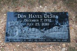 Don Hayes DeSha, Sr