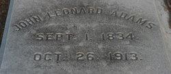 John Leonard Adams