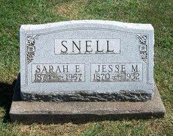 Sarah Elizabeth Bessie <i>Dean</i> Snell