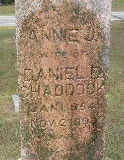 Annie J. <i>Morrison</i> Chaddock