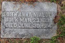 Edith Anna Victoria Alden