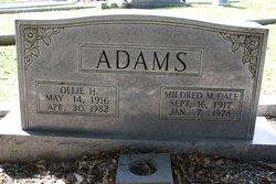 Ollie Hayden Adams