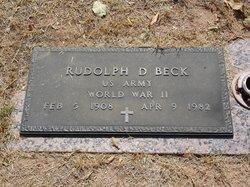 Rudolph Daniel Rudy Beck