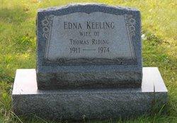 Edna M Eva <i>Keeling</i> Riding