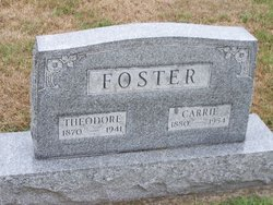 Carrie Maude <i>York</i> Foster