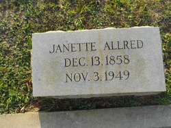 Sarah Janette <i>Long</i> Allred