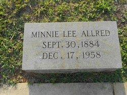 Minnie Lee Allred