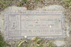 Reginald Ray Henderson, III