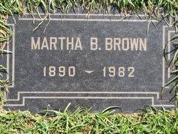 Martha Beatrice <i>Jones</i> Brown