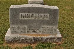 Martha Ann Mattie <i>Ingram</i> Bingham