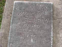 Lillian <i>Lang</i> Barrow