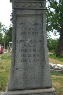 Lewis H Blair, Jr